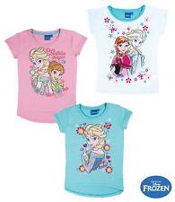 Girls short Sleeve Top Disney Frozen Frozen 98 104 116 128 140 #803