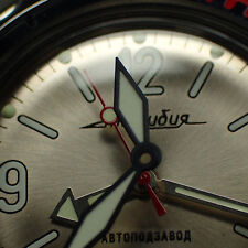 THE.BURAN.ONE - MATTE BLACK - VOSTOK HOUR HAND WH.H-01-MB