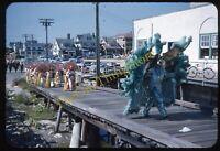 Ocean City New Jersey Boardwalk 1950s 35mm Slide Vtg Kodachrome Parade Costume
