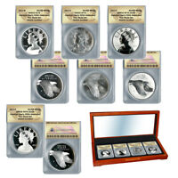 2017 American Liberty 225th Anniversary Silver 4pc Medal Set - Perfect 70