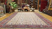 Masterpiece Vintage 1960's Wool  Pile,Natural Dye Hand-knotted Hereke 7x10ft