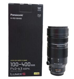 Panasonic Leica DG Vario-Elmar 100-400mm F4-6.3 ASPH. POWER O.I.S. Lens