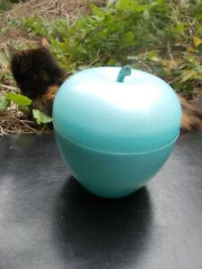 CHOUPA CHUPS Superbe seau à glaçon glace 1970 pomme bleu pastel design rarissime