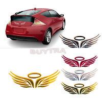 3D Angel Fairy Wings Car Auto Truck Logo Emblem Badge Decal Sticker 3 Colors、3C