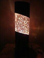 Rare 1970's Vintage French Fast Flow Glitter Lava Lamp Like Mathmos Crestworth