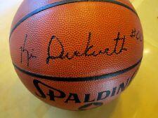 KEVIN DUCKWORTH Signed I/O NBA Basketball -JSA Authenticated #K39916