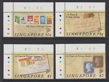 SINGAPORE 1990 Penny Black 150th anniversary MINT set sg619-622 MNH