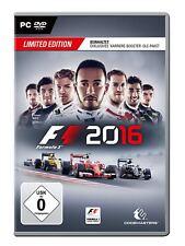 F1 2016 - Limited Edition (PC, 2016, Nur der Steam Key Download Code) keine DVD