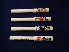The Disney Channel Promotional Pen 4 Pens Mickey Mouse 1941 1947 1955 1986