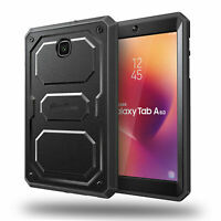 For Samsung Galaxy Tab A 8.0'' Shockproof Case Rugged Dual Layer Hybrid Cover