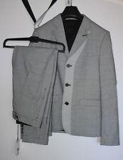 CARVEN Tailleur Pantalon T : 40   /  Veste Japonaise Noir Blanc T : 48