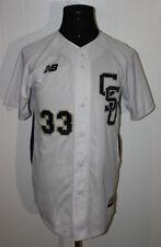 New Balance CSU Charleston Southern Buccaneers White Sewn Baseball Jersey 38