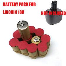 Battery PACK For Lincoln Power Luber Grease Gun LNC 1842 1844 18V 3.0Ah Ni-MH