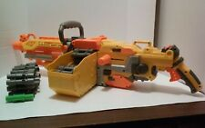 Nerf  Vulcan EBF-25 Dart Blaster Gun w/Belts Box Working Tested