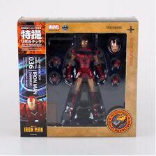 SCI-FI IRON MAN Kaiyodo Marvel Revoltech 036 MARK III PVC Action Figure 6'' A89K