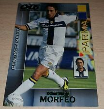 CARD CALCIATORI PANINI 2004/05 PARMA MORFEO CALCIO FOOTBALL SOCCER ALBUM