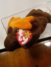 ORIGINAL RARE AUTHENTIC  TY  Chocolate the Moose Style 4015 PVC