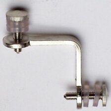 Angolo 2 Lati in ferro nichelato - accessorio per vetrine