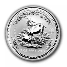 Australien - 2 AUD Lunar I Ziege 2003 - 2 Oz Silber