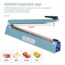 "16"" Hand Sealer Impulse Heat Manual Sealing Machine Plastic Poly Bag Closer"