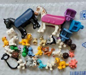 LEGO Friends Animals Lot Puppies Kittens Horses Birds