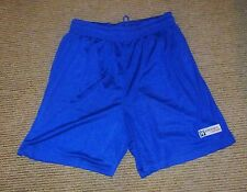 "New in Pack Mens Lined Basketball Shorts Fiddes Sports Size Large 32"" Royal Blue"