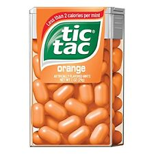 5 Pack - Tic Tac Orange 1oz Each
