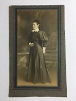 Victorian Cabinet Card Photo: Unknown Lady: