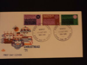 Australia First day cover FDC 1971 Christmas Royal #4