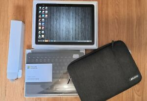 Microsoft Surface Go 2, 128gb, 8gb Ram with Type cover, soft case & Charger