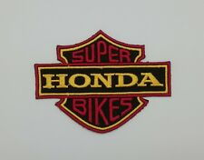 Honda Patch Embroidered Iron On Sport Motor Motorcycle Team Racing Super Bikes