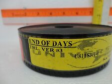 35mm Movie Trailer End of Days Preview Film Cell Collectibles