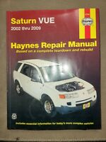 2002-2009 Saturn Vue Haynes Repair Service Workshop Shop Manual Book Guide 0255