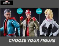 Marvel Legends Into The Spider-Verse- Miles | Peter B Parker | Gwen Stacy Figure