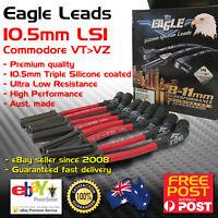 Eagle Spark Plug Leads 10.5mm Fits Holden Chev V8 LS1 5.7L VT VX VY VZ Red