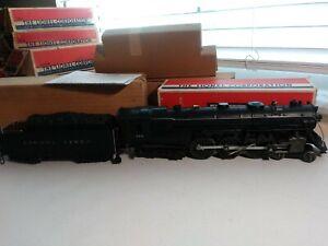 LIONEL 773 HUDSON 4-6-4 & 2426W TENDER 1950