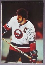 1977-78 O-Pee-Chee Glossy Insert #6 Clark Gillies New York Islanders