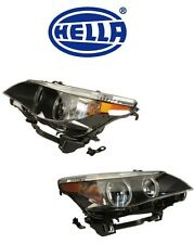 BMW E60 Front Left + Right Headlight Assembly Bi-Xenon Adaptive OEM