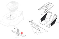 Mountfield S420 PD Petrol Lawnmower Cutting Blade 181004341/3 2011 Model