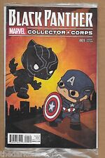 BLACK PANTHER #1 EXCLUSIVE COLLECTORS CORPS POP FUNKO   VARIANT COVER MARVEL