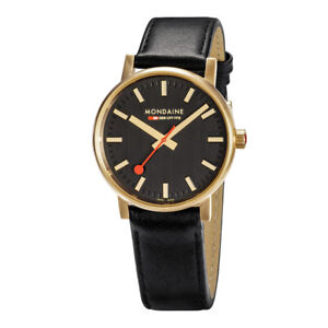 Mondaine evo2 Gold Sapphire Glass 40mm Rose Gold MSE.40122.LB