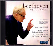Stanislaw SKROWACZEWSKI: BEETHOVEN Symphony No.9 Annette Dasch Sindram Elsner CD