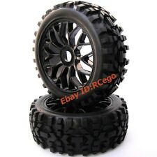 RC 1:8 All Terrain Buggy Tires Wheels for HPI RTR Badlands Car Upgrade Part 2pcs