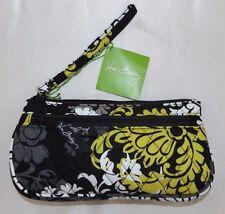 Vera Bradley Baroque Wristlet Wallet Front Zip ID Smartphone Clutch