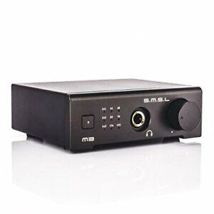 Smsl M3 Hifi Headphone Amplifier Digital Amplifier Usb Dac Stationary New
