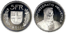 Svizzera 5 Franchi 2011 Fdc Unc §475