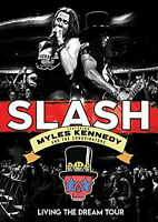 SLASH FEAT.MYLES KENNEDY & THE CONSPIRATORS-LIVING THE DREAM TOUR-JAPAN DVD N44