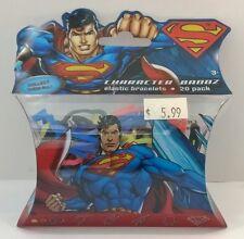 Superman silly bandz 20 pack