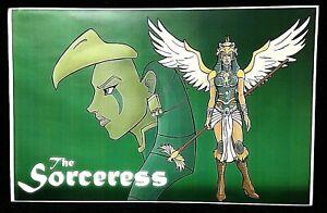 The Sorceress of Castle Grayskull He-Man Comic Art Print 11 X 17