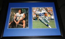 Emmitt Smith Framed 18x24 Photo Set Dallas Cowboys